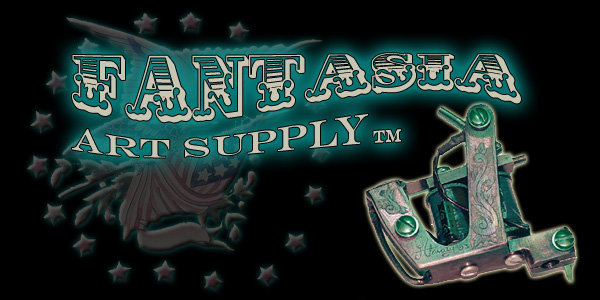 Tattoo ink, Fantasia inks, tattoo supplies, tattoo pigments, tattoo machines